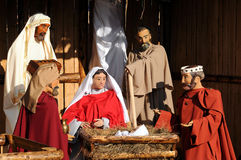 Full Nativity Scene Stock Photos