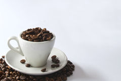 Full Of Coffee Royalty Free Stock Photo