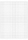 full page centimeter Dot Paper vector Stock Photos