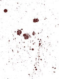 Full Page of grunge Splats 9 Royalty Free Stock Photo