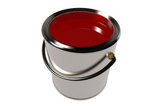 Full paint can (3D) Royalty Free Stock Images