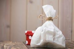 Full paper food sack Stock Image