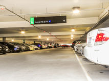 Full Parking Lot 2. Parking lot at Chadstone shopping centre is full of cars Royalty Free Stock Photography