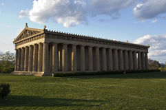 full parthenon Arkivfoton