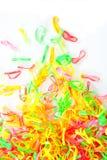 full plast- för bandfärg Arkivbilder