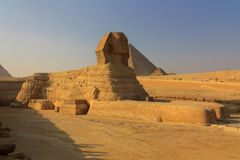 The full profile of the Great Sphinx stock photo