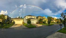 Full rainbow Royalty Free Stock Image