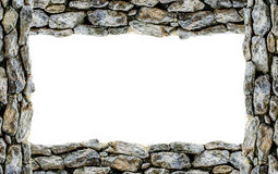 Full ram för sten Arkivfoton