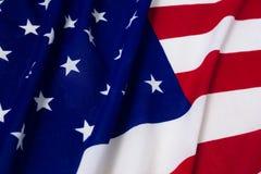 Full ram som skjutas av nationsflaggan arkivfoto