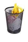 Full Recycle Bin Royalty Free Stock Photo