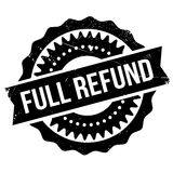 Full refund stamp Stock Photography