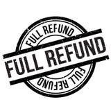 Full refund stamp Royalty Free Stock Photos
