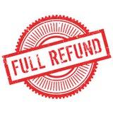 Full refund stamp Stock Images