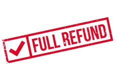 Full refund stamp Royalty Free Stock Photography