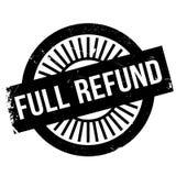 Full refund stamp Stock Image
