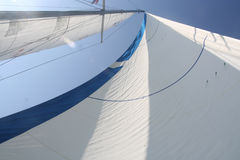 Full sails Royalty Free Stock Photo
