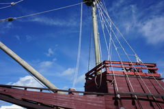 Full Scale Ship Replica Royalty Free Stock Photo