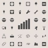 Full scale signal icon. Detailed set of  Minimalistic  icons. Premium quality graphic design sign. One of the collection icons for. Websites, web design, mobile Royalty Free Stock Images
