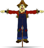 Full_scarecrow.jpg Royalty Free Stock Photography