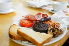 Full Scottish breakfast Royalty Free Stock Image