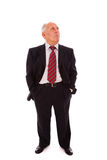 Full senior businessman Royalty Free Stock Photo
