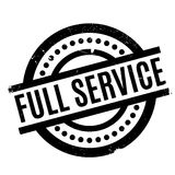 Full Service rubber stamp Stock Photo