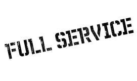 Full Service rubber stamp Royalty Free Stock Images