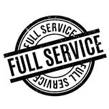 Full Service rubber stamp Stock Photography