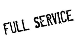 Full Service rubber stamp Royalty Free Stock Photos