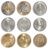 Full set of Poland coin Royalty Free Stock Photography