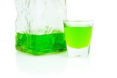 Full Shot glass Stock Images
