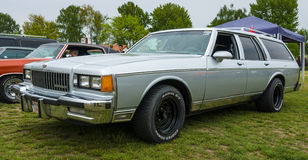 Full-size car Chevrolet Caprice station wagon, 1979. Stock Photography