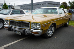 Full-size car Dodge Polara Custom Stock Image
