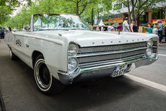 Full-size car Plymouth Fury III Convertible, 1968 Royalty Free Stock Image