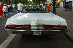 Full-size car Plymouth Fury III Convertible, 1968 Royalty Free Stock Photography