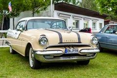 Full-size car Pontiac Chieftain, 1956. Stock Photos