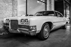 Full-size car Pontiac Grand Ville convertible, 1975. Royalty Free Stock Photos