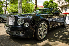 Full-size luxury car Bentley Mulsanne. Royalty Free Stock Photo