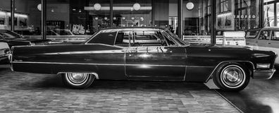 Full-size luxury car Cadillac Coupe de Ville Stock Images