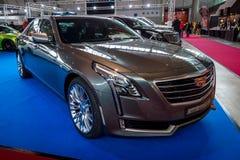 Full-size luxury car Cadillac CT6 AWD, 2016. Stock Photography