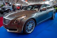 Full-size luxury car Cadillac CT6 AWD, 2016. Royalty Free Stock Image