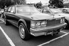 Full-size luxury car Cadillac Sedan de Ville Royalty Free Stock Photos
