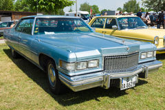 Full-size luxury car Cadillac Sedan de Ville, 1975 Stock Photo