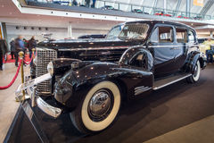Full-size luxury car Cadillac V16 Series 90 limousine, 1939 Royalty Free Stock Photo
