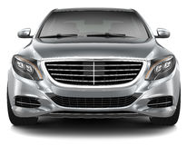 Full-size luxury car - front view Stock Photo