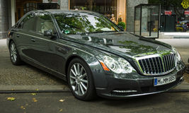 Full-size luxury car Maybach S57 Stock Photo