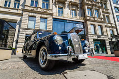 Full-size luxury car Mercedes-Benz 300D cabriolet (W186) Royalty Free Stock Photo
