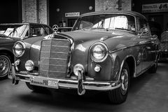 Full-size luxury car Mercedes-Benz 220S Coupe Stock Images