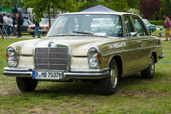 Full-size luxury car Mercedes-Benz 280S (W108). Royalty Free Stock Photos