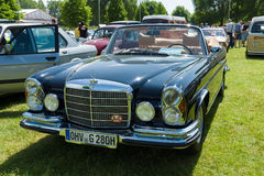 Full-size luxury car Mercedes-Benz 300 SE Cabriolet (W112) Stock Photos